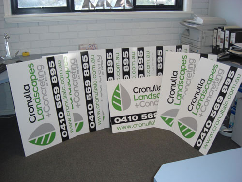 Corflute Signs Corflute Signage Visual Signs