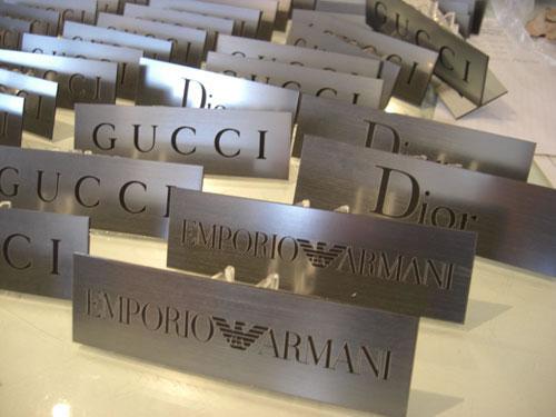 Laser Engraving Brass Anodised Aluminium Acrylic
